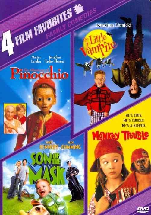 4 FILM FAVORITES:NEW LINE FAMILY (DVD)